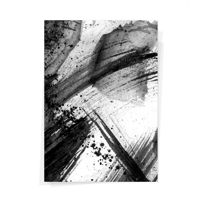 Wolfgang Philippi Abstrakt #1 Triptychon