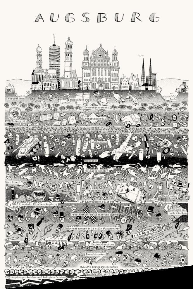 Wolfgang Philippi Augsburg Plakat