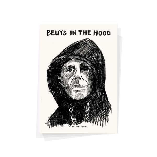 Beuys in the Hood Karte Wolfgang Philippi