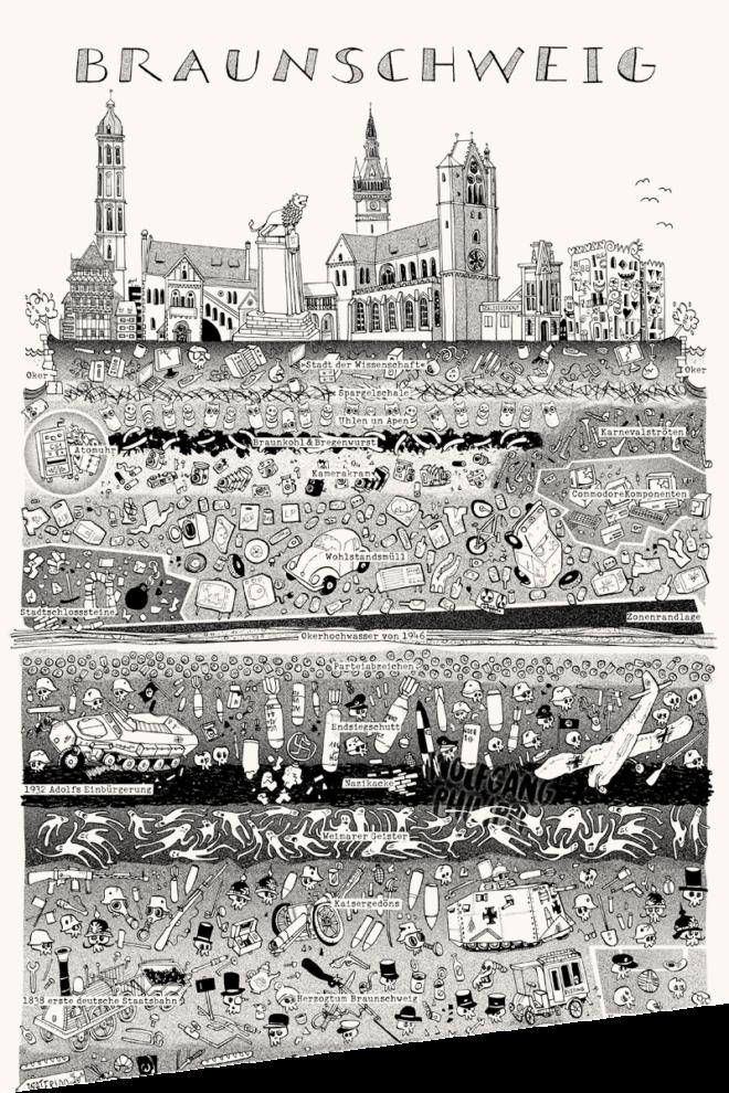 Wolfgang Philippi Braunschweig Plakat