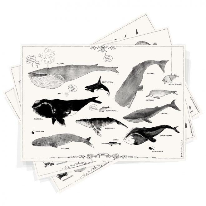 Fischplakate 3er Set Wolfgang Philippi