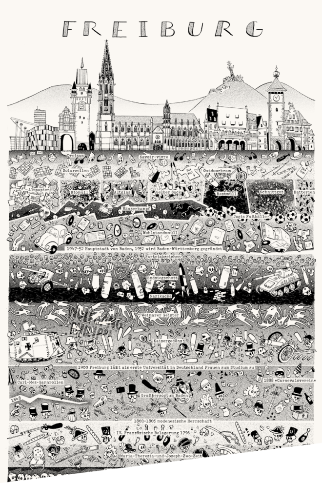 Wolfgang Philippi Freiburg Plakat