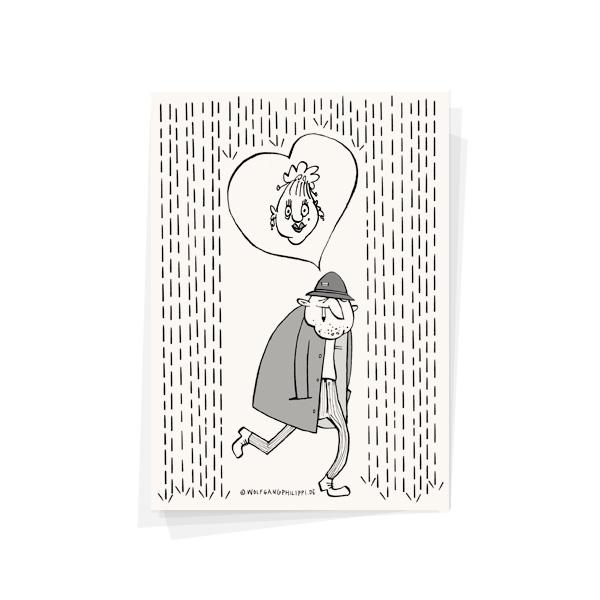 Liebe Karte Wolfgang Philippi