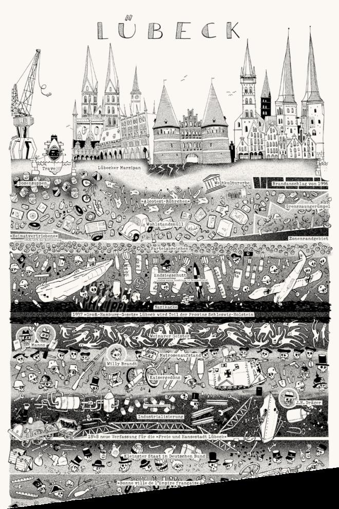 Wolfgang Philippi Lübeck Plakat