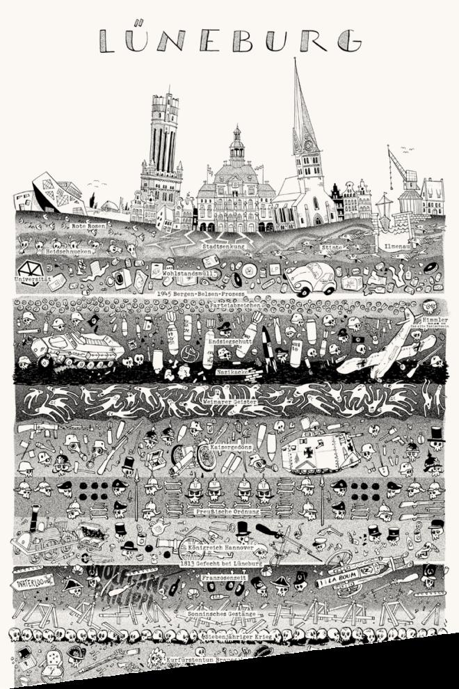 Wolfgang Philippi Lüneburg Plakat