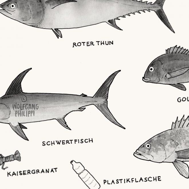 Mittelmeer Plakat Wolfgang Philippi