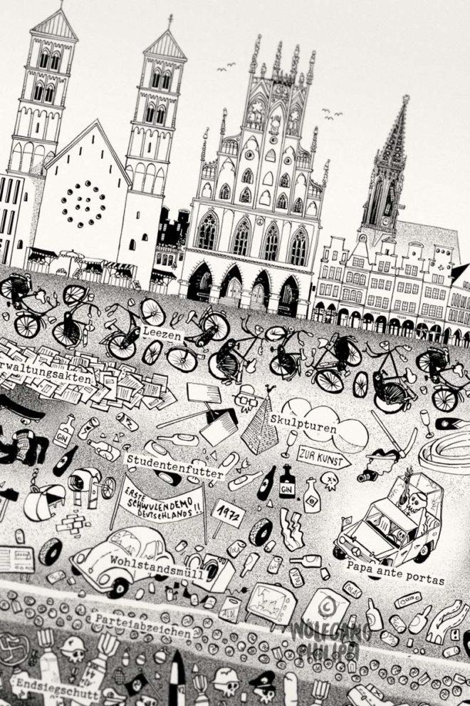 Wolfgang Philippi Münster Plakat