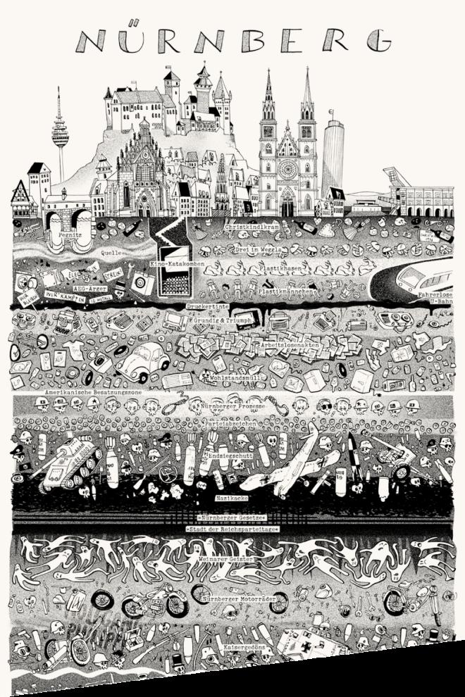 Wolfgang Philippi Nürnberg Plakat