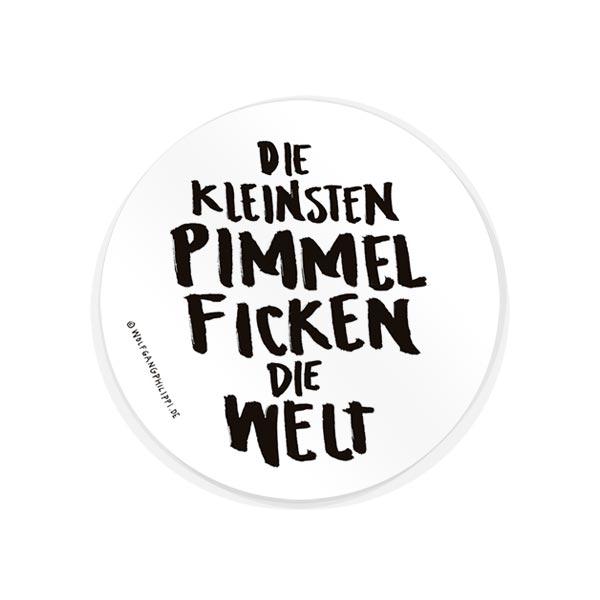 Pimmel Aufkleber Wolfgang Philippi