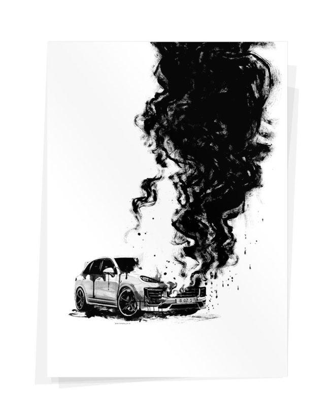 Porsche Plakat Wolfgang Philippi
