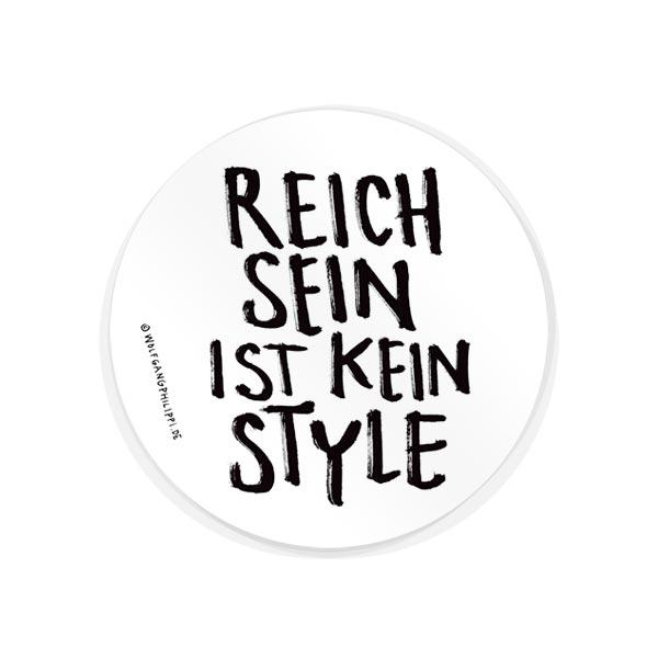 Reich Sein Aufkleber Wolfgang Philippi