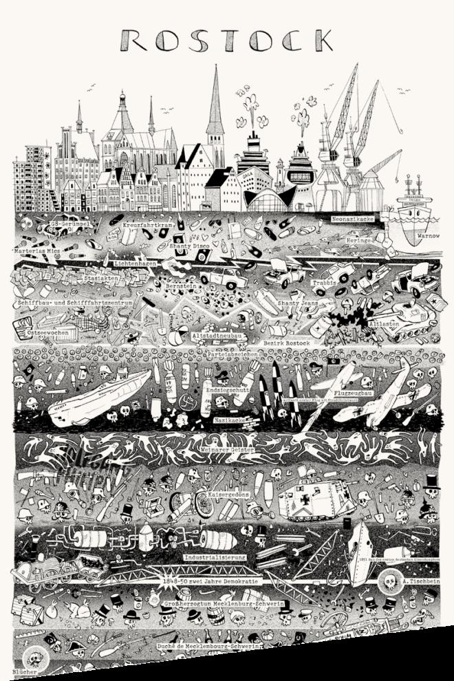 Wolfgang Philippi Rostock Plakat