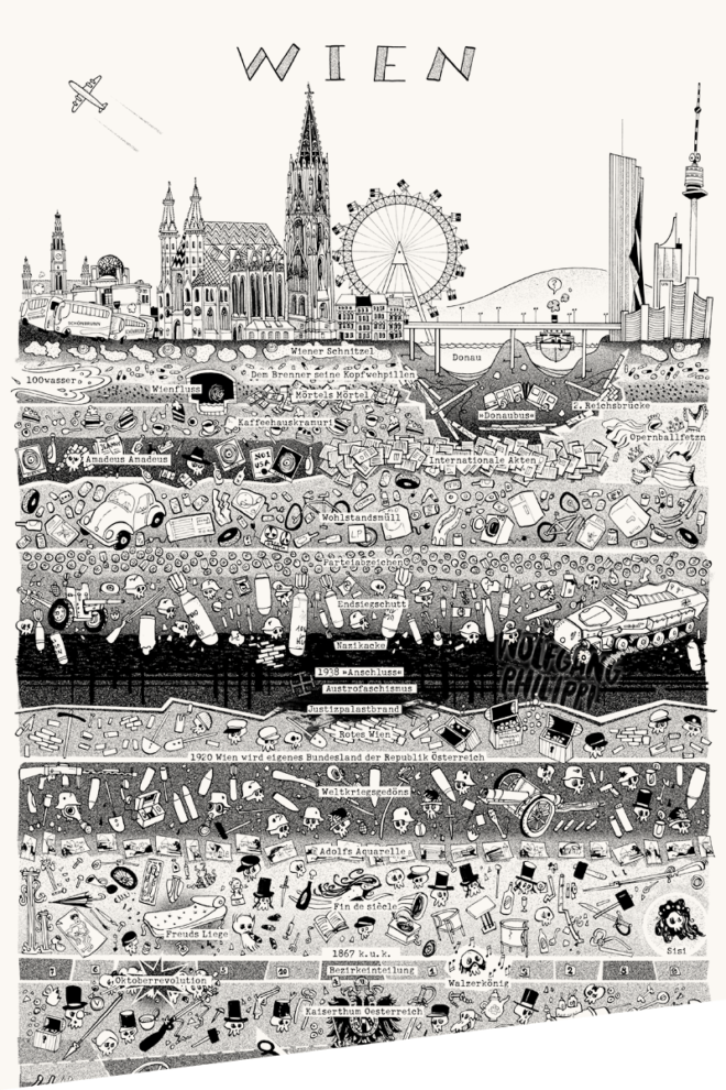 Wolfgang Philippi Wien Plakat