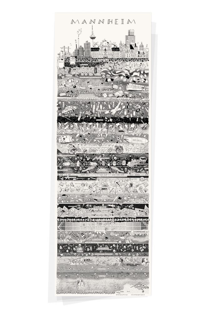 Wolfgang Philippi Mannheim Plakat