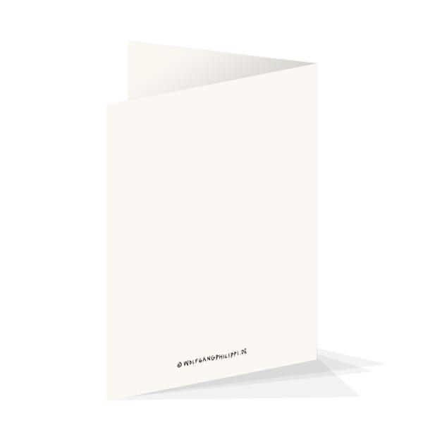 Wolfgang Philippi Geburtstag Karte