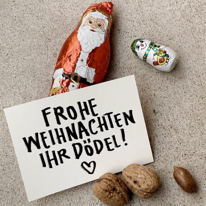 Wolfgang Philippi Weihnachten Dödel Karte