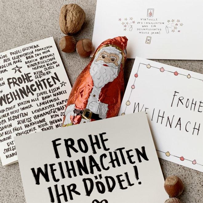 Frohe Weihnachten Kartenset Wolfgang Philippi