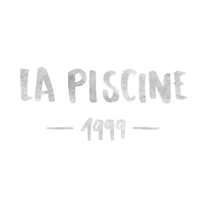 Wolfgang Philippi La Piscine 1999 Plakat